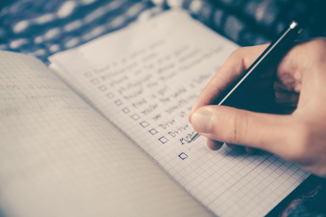 feladatlista, priorizálás, időgazdálkodás